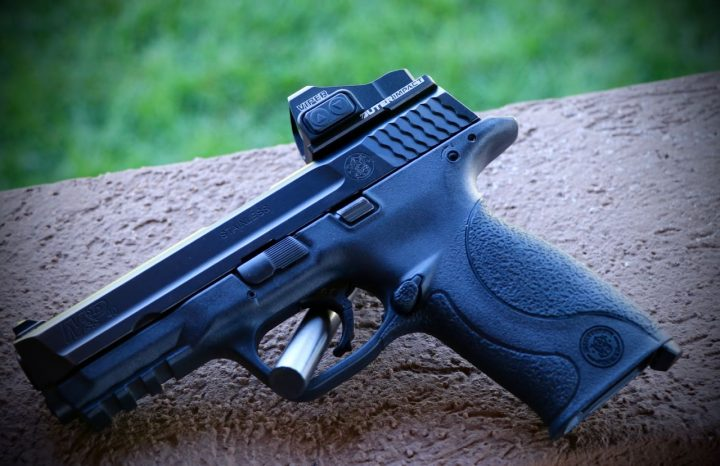Smith & Wesson M&P Pistol with Outerimpact MRA and Vortex Viper