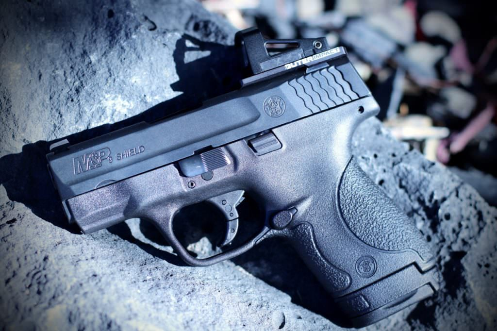 M&P Shield with Shield RMS View 3