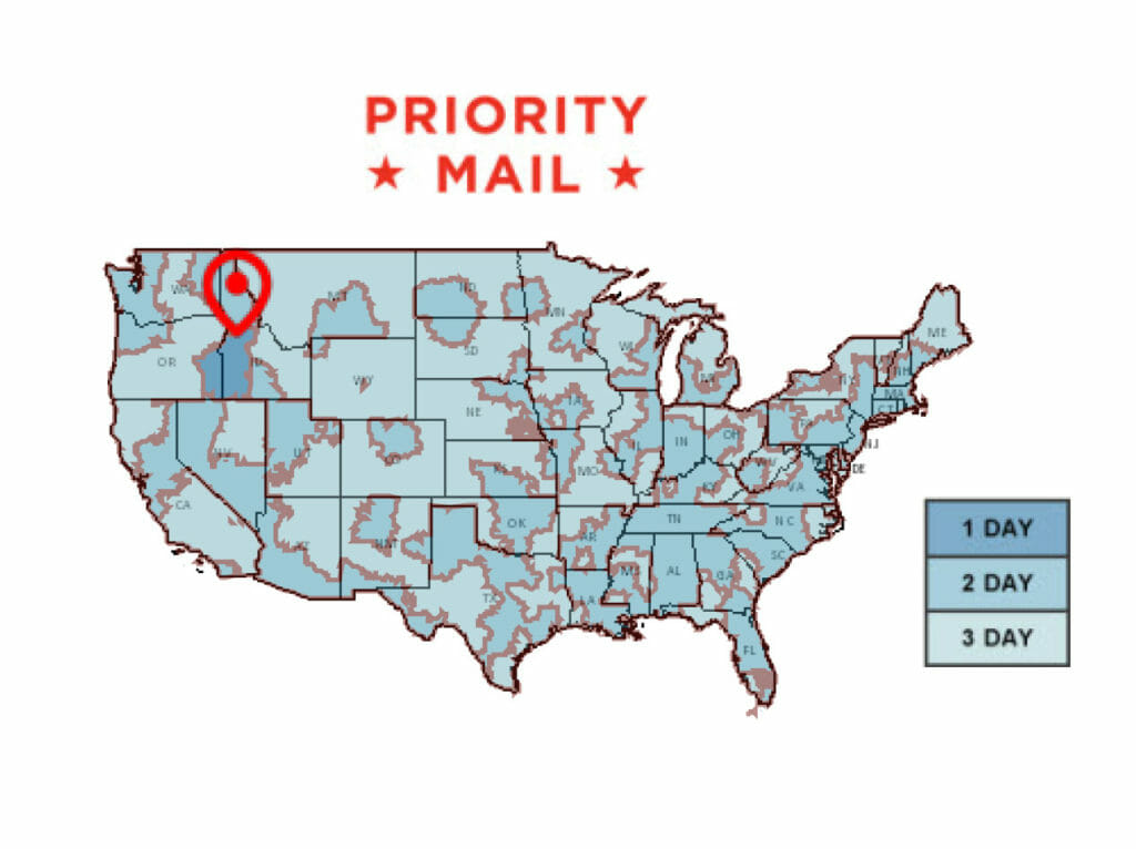 Priority Mail Shipping Times